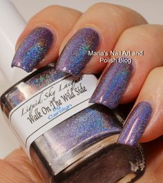 Liquid Sky Lacquer Walk On The Wild Side