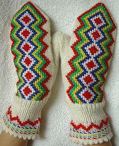 Lapin lapaset pattern - Traditional Finnish Design