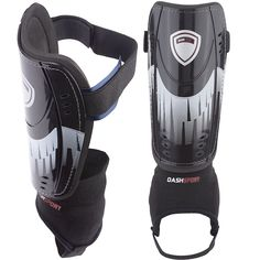 Soccer Shin Guards With Ankle Straps... Guardians by DashSport
