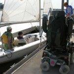ASU adaptive sailing program