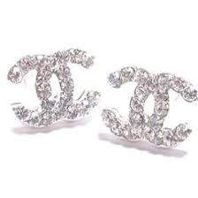 Chanel diamond earrings