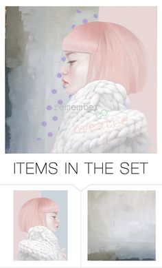 """remember"" by ninicrea ❤ liked on Polyvore featuring art"