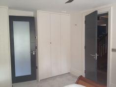 Modern Painted Interior Doors grey door, white skirting | house | pinterest | grey doors