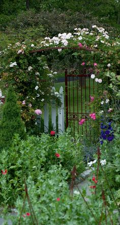 Traditional Garden for an 1850s Home - Old-House Online - Old-House Online