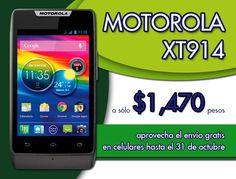 Motorola XT914 a $1470 pesos