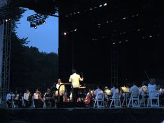 New York Philharmonic in Central Park. A summertime MUST. #ridecolorfully