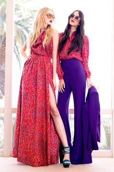 love purple and red!