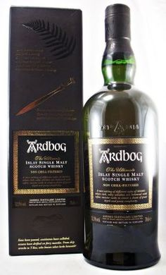 Ardbeg Ardbog Islay Whisky 52.1% Limited Edition of Ardbeg Single Malt Scotch Whisky.  A rare vatting of different styles of Ardbeg, Where rich salty whiskies are balanced with softer sweeter casks to create a dram of great depth and peaty complexity.