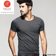 f0f6361b Casual Short Sleeve Slim Tops Tees Man's T-Shirts: Our clothing earns place  in
