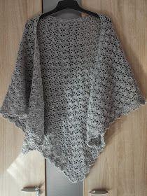 Gratis haakpatroon: South Bay shawlette (schema)