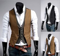 Mens Vests Coletes Masculinos Chaleco Hombre Casual Mens Sleeveless Jackets Military Outdoors Dress Suit Vests For Men Brand