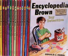 Solve a case with this set of books and Encyclopedia Brown