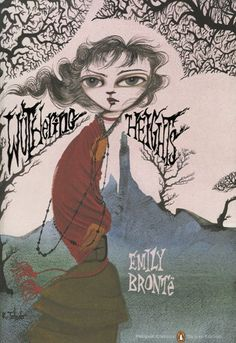 Wuthering heights. I own this with this kind of cover.