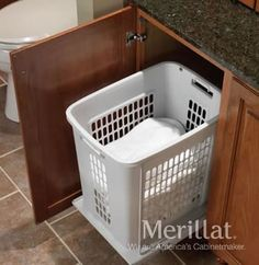 Merillat Classic® Base Vanity Hamper Roll-Out - Merillat