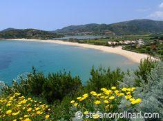Chia spiaggia Sa Colonia - Sardinia South - Italia