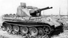 Flakpanzer V was a German self-propelled anti-aircraft gun developed toward the end of World War II. Unlike earlier self-propelled anti-aircraft guns, it had a fully enclosed, rotating turret.