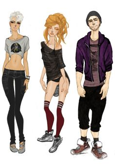 Models.Week.3 by babsdraws.deviantart.com on @deviantART