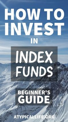 How To Invest in Index Funds: A Beginners Guide - Stock Market Investing - Ideas of Stock Market Investing - The ultimate beginner's how to guide to investing in index funds. Everything you need to know to get started. Stock Market Investing, Investing In Stocks, Investing Money, Real Estate Investing, Saving Money, Saving Tips, Bollinger Bands, Dividend Investing, Investment Tips