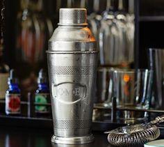 Speakeasy Cocktail Shaker | Pottery Barn