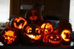 Pumpkin Halloween Carving Ideas #halloween #pumpkins #carving