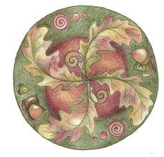 Autumn Wheel by Spiralpathdesigns on deviantART
