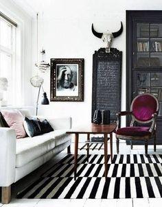 38 Best Black And White Home Decor Images On Pinterest White Home