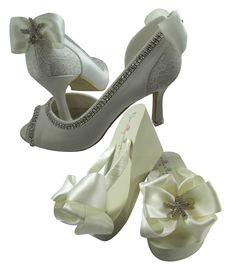 6774db3ed5c4a1 Bridal Strappy Heels  Choose Name and colors PEEP22. Wedding High HeelsBridal  HeelsWedding MatchesHeeled Flip FlopsSatin ...