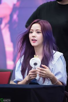 Jisoo BLACKPINK first fan meeting