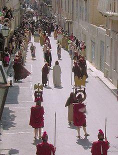 Marsala 25-31 Marzo 2013: Processione dei Gruppi Viventi del Giovedì Santo