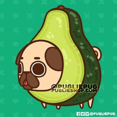 A good fatty - in more ways than one 😜🥑💖! What's your fav recipe? Avocado and Soy Sauce, Avocado Toast, or Guacamole and Chips? Cute Food Drawings, Cute Animal Drawings Kawaii, Cute Cartoon Drawings, Kawaii Doodles, Cute Doodles, Kawaii Disney, Photos Folles, Cute Dog Drawing, Cute Avocado