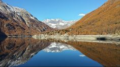 Gran Paradiso National Park, Ceresole Reale Lake (Italy)