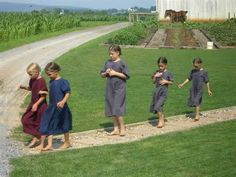 Barefoot in #Amish country... it's a thing. amishgazebos.com