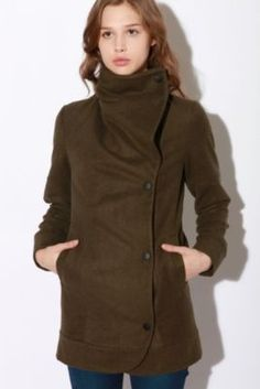 UrbanOutfitters.com > Lab:CO Funnel Neck Coat