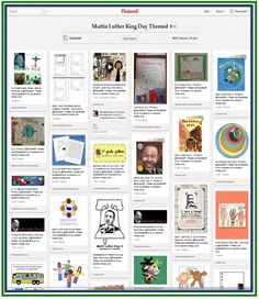 Pinterest Pinboard of the Week - Therapy Activities for Martin Luther King Day - Pinned by @PediaStaff – Please visit http://ht.ly/63sNt for all (hundreds of) our pediatric therapy pins