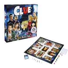 One murder. In this suspenseful Clue Classic Mystery Game, players have to find out who's responsible for murdering Mr. Boddy of Tudor Mansion in his own home. Get the scoop on the mansion's rooms, weapons, and guests and start detecting. Mystery Board Games, Board Games For Kids, Hobbies For Men, Rc Hobbies, Clue Board Game, Hobby Electronics Store, Clue Games, Hobby Kids Games, Murder