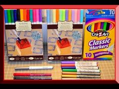 Markers & pens that work GREAT with the Cricut Explore. - YouTube