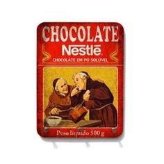 Porta chaves chocolate - StickDecor   Decoração Criativa