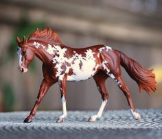 Painted Model Horses by Nikki Button