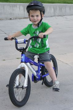 The easiest way to teach a child to ride a bike