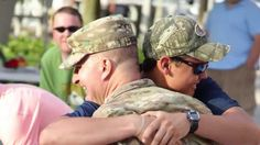 Soldier Surprises Family with Homecoming at Shelter Cove Harbour HarbourFest, Hilton Head Island