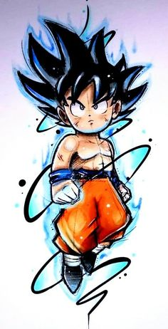 So cooool wallpaper for iPhone Chibi Goku If you want more such images visit my board Dragon Ball Chibi Goku, Dragon Ball Gt, Dragon Ball Image, Cartoon Drawings, Cartoon Art, Goku Drawing, Animes Wallpapers, Artwork, Wallpaper Art