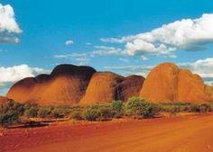 "The Olgas – Step Into The ""Dreamtime"" World of Australia Aboriginal People"