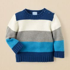 Check out The Children's Place for a great selection of kids clothes, baby clothes & more. Baby Knitting Patterns, Baby Cardigan Knitting Pattern, Knitting For Kids, Baby Boy Outfits, Kids Outfits, Casual Outfits, Boys Sweaters, Kids Fashion, Children's Place