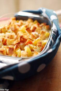 Édesburgonya gratinírozva 2015 Macaroni And Cheese, Ethnic Recipes, Blog, Mac Cheese, Blogging, Mac And Cheese