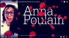 Conheça um pouco da trajetória da artista visual #AnnaPoulain e o grande lançamento de tão aguardado sonho, que se tornou um projeto e virou realidade. #Agradecimento especial para todas as pessoas que ajudaram e ajudam a tornar este #sonho uma #realidade.