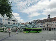 Schweinfurt - Roßmarkt - Verkehrsknotenpunkt in Schweinfurt