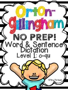 Do you find yourself spending precious time, week after week, searching for Orton-Gillingham, concept-specific words and sentences for dictation? Re-creating differentiated practice worksheets and/or assessments with OG visual cues? Do you feel like prepping your OG Word & Sentence Dictation sheets takes longer than actually teaching the concepts to your students?