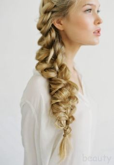 The chunky braid. I would love to master this!