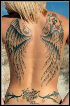 Angel Wings Tattoo Meaning