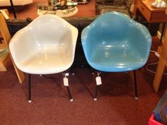 Great pair of industrial French Eames look-a-likes